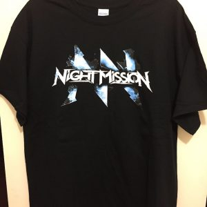 Night Mission Letters shirt