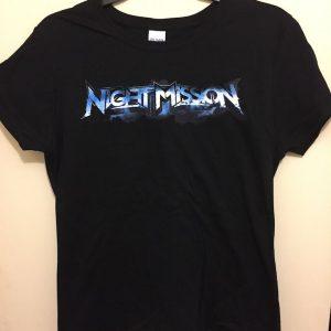 night mission ladies logo shirt