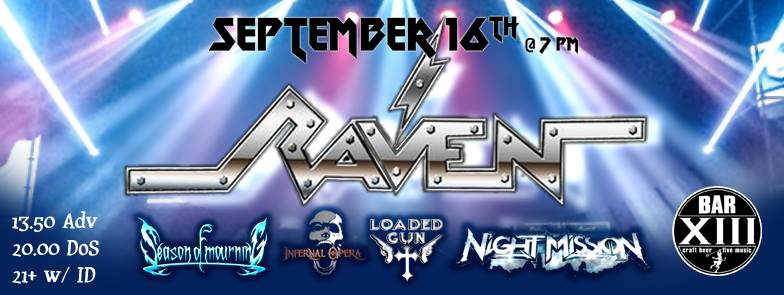night mission and raven gig