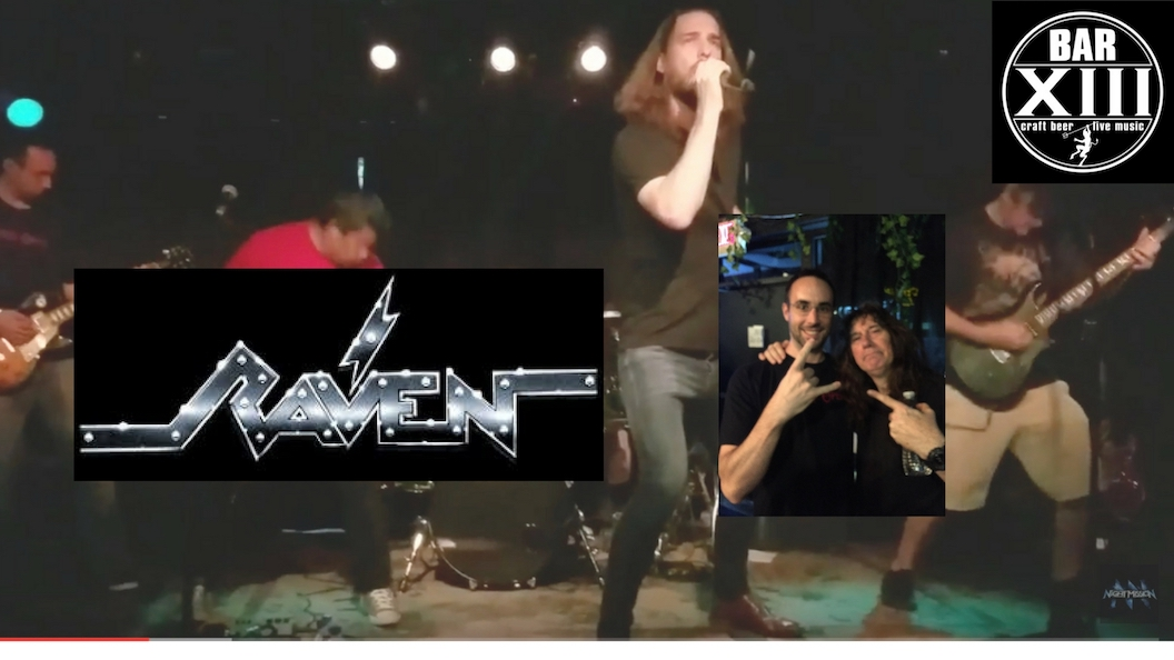 night mission metal band with raven