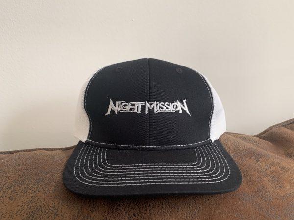 night mission trucker hat